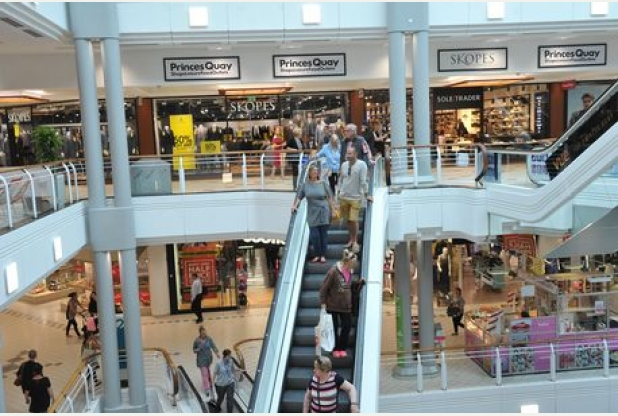 fbcbaf9ab7 Princes Quay reveal if £20m expansion has brought more people to shopping  centre